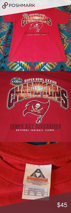 a9e0c06db Tampa bay buccaneers super bowl shirt vintage 2003