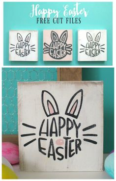 happy Easter Cut files for Cameo or Cricut!