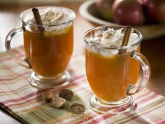 Warm Apple Pie Cocktail.  This apple-cider-based cocktail gets its kick courtesy of Tuaca, a delicious Italian liqueur made with citrus peels, spices and vanilla. Before serving, add a fresh cinnamon stick for an extra bit of spice.   http://www.hgtv.com/entertaining/cold-weather-cocktails/pictures/page-13.html?soc=pinterest