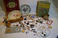 Box of Antique Treasure & Goodies