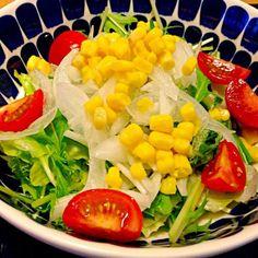 彩り良く出来ました꒰ ♡´∀`♡ ꒱ - 20件のもぐもぐ - コーンサラダ by usaco123