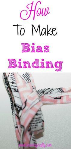 How to make Bias Binding Tutorial. #Biasbiding #tutorial #sewingtutorial