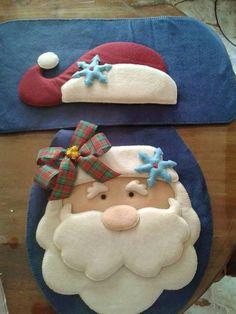 Felt Christmas, Vintage Christmas, Christmas Crafts, Christmas Ornaments, Santa Clus, Xmas Decorations, Kids Rugs, Throw Pillows, Quilts