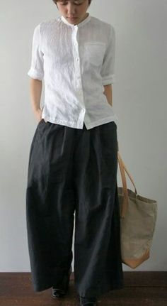 fashionable outfits for women Japanese Minimalist Fashion, Japanese Fashion, Work Fashion, Fashion 2020, Fashion Design, Mode Outfits, Casual Outfits, Women's Fashion Dresses, Everyday Fashion