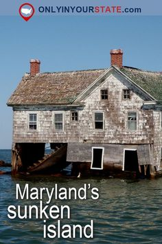You'll be blown away by the story of Maryland's underwater island. Holland Island was once thriving but now is a sad reminder of the fate of the Chesapeake. Haunted Places, Abandoned Places, Abandoned Homes, Canada Travel, Travel Usa, Griswold Family Vacation, East Coast Usa, Us Islands, California Kids