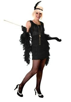 Plus Size 1920's Flapper Costume! I'm Thinking About Dressing As This For Halloween, I've Been Obsessed w/ This Era Ever Since Gatsby! :)
