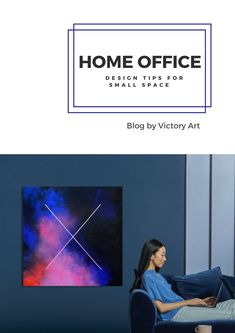 Stay safe AND productive at home? Check out these tips to turn a small corner of your home into an inspiring office! #interiordesign #interiorart #artdecor #artdecoration #wallart #walldecoration #artinvest #emergingart #luxurywalldecor #homeoffice #workfromhome #officedesign#investinlivingartists Office Interior Design, Office Interiors, Interior Decorating, Cozy Living Spaces, Central And Eastern Europe, Small Corner, Stay Safe, Art For Sale, Small Spaces