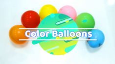 Color Balloons The Finger Family Song | Nursery Rhymes
