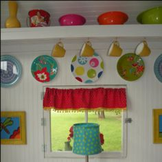 My daughters play house