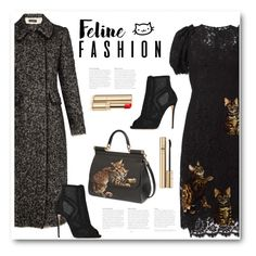 """Feline Fashion"" by bliznec ❤ liked on Polyvore featuring Dolce&Gabbana"