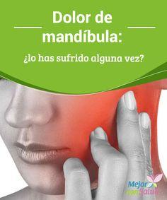Dolor de mandíbula: ¿lo has sufrido alguna vez? El dolor de mandíbula tiene como origen más común la ansiedad. No obstante, cabe decir también que es un tipo de dolencia muy molesta y que, en ocasiones, cursa con otros trastornos como el bruxismo o incluso algún problema articular.