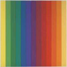 Spectrum IV. 1967 Gay abstractionist artist Ellsworth Kelly (May 31, 1923 December 27, 2015)