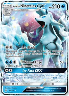 Alolan Ninetales-GX: OH MY, all my fave Sun/Moon Pokes' cards be gaaawwwwwjuss, esp. 'Lolan Nineytales... http://www.pokemon.com/us/pokemon-tcg/pokemon-cards/13?2-sm=on