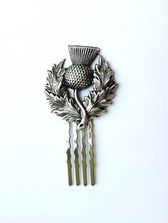 Tartan, Plaid, I Love Jewelry, Hair Jewelry, Unique Jewelry, Hair Comb Wedding, Bridal Hair, Vintage Hair Combs, Scottish Gifts
