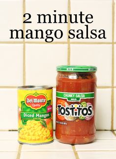 2 minute mango salsa recipe @delmontebrand #makemangosalsa #Pmedia #ad