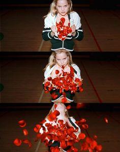 Mena Suvari in American Beauty. Directed by Sam Mendes, movie released in 1999.