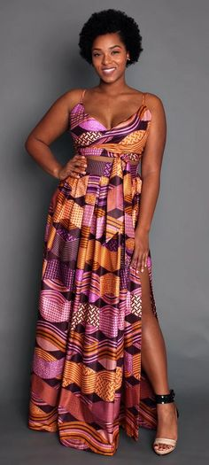 THE LEILA Maxi Skirt in Coral and Purple. Authentic wax print maxi skirt in a warm, and refreshing hue. Side pockets, luxurious folds and invisible zipper closure at the back.     Ankara | Dutch wax | Kente | Kitenge | Dashiki | African print bomber jacket | African fashion | Ankara bomber jacket | African prints | Nigerian style | Ghanaian fashion | Senegal fashion | Kenya fashion | Nigerian fashion | Ankara crop top (affiliate)