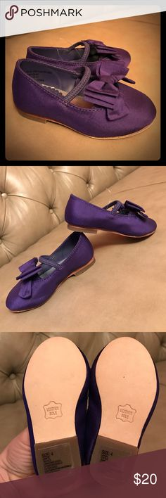 ‼️price firm ‼️New Janie and Jack shoes Price reduced ‼️New Satin bow flats Janie and Jack Shoes Dress Shoes
