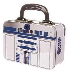 R2-D2 Star Wars tin lunch box