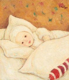"Nicolae Tonitza (Romania, 1886 -  1940) ""Girl in White"", 1924"