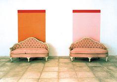 Furniture sculpture John M. Op Art, John Armleder, Neo Dada, Fluxus, Art Activities, Contemporary Artists, Oeuvre D'art, Paint Colors, Illustration Art
