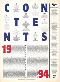 Design is fine. History is mine. — Pentagram, table of contents (TOC)...
