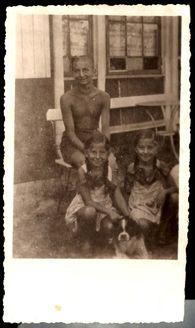 Riga, Latvia, Yasha, Bela and Meri, who perished in the Holocaust.