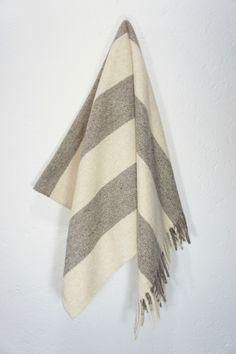 Image of Wool Blanket 'Big Sur' : Mexchic