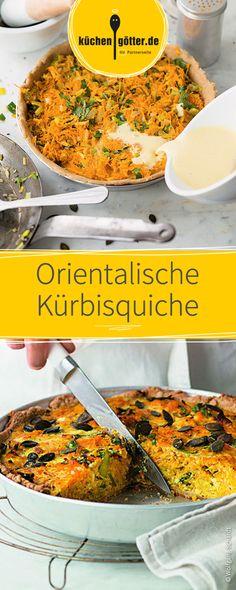 Die orientalische Kürbisquiche mit edelsten Gewürzen und den besten frischen Zutaten schmeckt einfach lecker! Mit etwas Geduld ist sie ganz einfach zubereitet und kann in den Ofen geschoben werden. Guten Appetit!