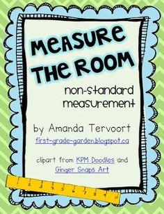Measure the Room {Math Freebie