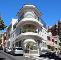 Domingo Pisaca. Viviendas Sociedad Cooperativa de Construcción. Santa Cruz de Tenerife (1933)