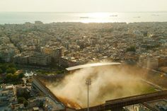 Aris Thessaloniki, aerial view.