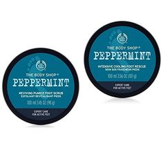 360bbc67cd59 The Body Shop Peppermint Reviving Pumice Foot Scrub 100ml+The Body Shop  Peppermint Intensive Cooling