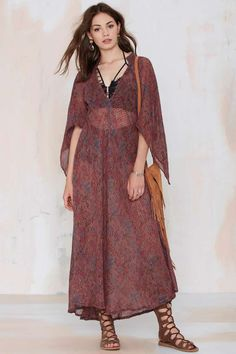 Vintage Ria Gauze Dress