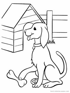 Dog House Coloring Pages from Dogs Coloring Pages For Kids. Dogs are mammals that are the result of domestication of the wolf Canis lupus. One animal that has a high level of intelligence and loyalty is used as. coloring page Dog House Coloring Pages Penguin Coloring Pages, Free Kids Coloring Pages, House Colouring Pages, Pumpkin Coloring Pages, Farm Animal Coloring Pages, Summer Coloring Pages, Birthday Coloring Pages, Dog Coloring Page, Truck Coloring Pages