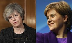Theresa May 'Fears' Nicola Sturgeon Will Trigger Scottish Independence Referendum During Brexit | The Huffington Post