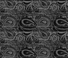 grey_batik fabric by wiccked on Spoonflower - custom fabric