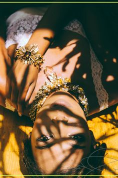 Jewelry Editorial, Beauty Editorial, Beyonce, Sarah H, Shadow Play, Schmuck Design, Wedding Beauty, How To Feel Beautiful, Leather Jewelry