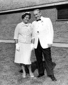 My paternal grandparents who met during WWII in England. Gran became a warbride and left England for America. My grandfather became involved in labor struggles and the Liberal Party of New York.