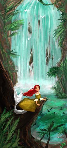 The Tropical Mermaid by https://massiminno.deviantart.com on @DeviantArt