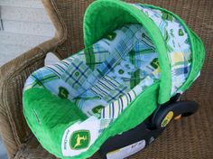 Infant Carseat Replacement Cover  John Deeretm by OneWildChild2012, $47.50