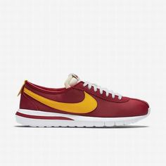 low priced a49a9 e555c  109.42 nike lifestyle shoes womens,Nike Mens University Red Gym Red White