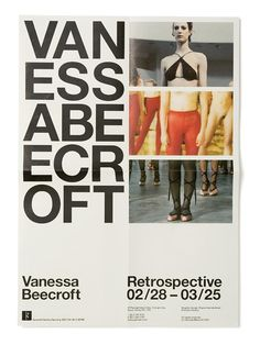 Best Experimental Jetset Vanessa Beecroft Vbrs images on Designspiration Poster Art, Poster Layout, Print Layout, Typography Layout, Graphic Design Typography, Graphic Design Art, Graphic Posters, Art Design, Book Design