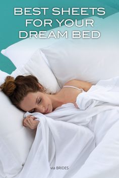 Brides! Want to know the secret to make your dream bed? via BRIDES