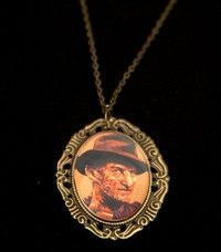 Nightmare on Elm St Freddy Kreuger Necklace