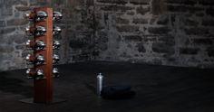 Dumbbell set Urban design dumbbell set for your at home or in the office. Dumbbell Set, Loft, Fitness Studio, Billionaire, Urban Design, Wine Rack, Furniture, Home Decor, Luxury