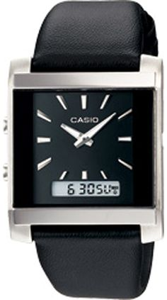 Casio Men's Black Leather Quartz Watch with Black Dial ** Check out the image by visiting the link. Casio G Shock Watches, Casio Watch, Rolex Watches, Watches For Men, Wrist Watches, Baby G Shock, Popular Watches, Quartz Watch, Apple Watch