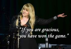 On kindness: | 12 Stevie Nicks Quotes To Live By