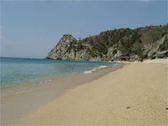 Playa Blanca hermoso mar donde podemos disfrutar de un día de sol. santa marta - colombia