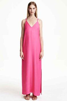 Robe longue en lyocell mélangé | H&M
